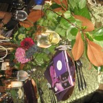 Elegant wedding table decor valencienne