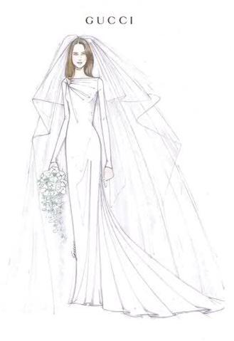 Платье Эскиз