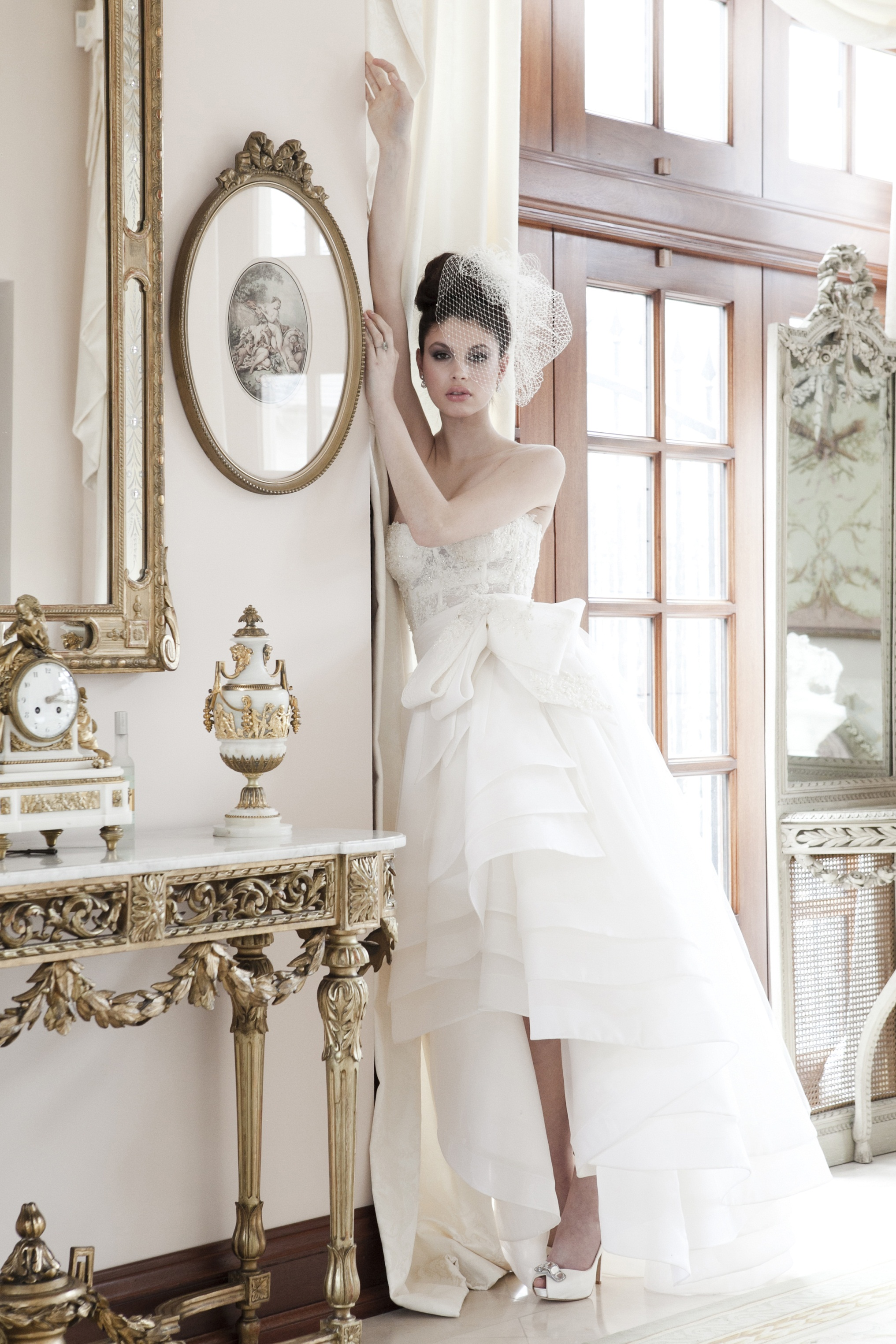 Our Kate Middleton Inspired Wedding Gown Valencienne Bridal