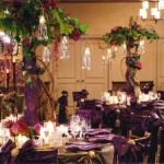 Valencienne wedding reception Pillar and Post decor