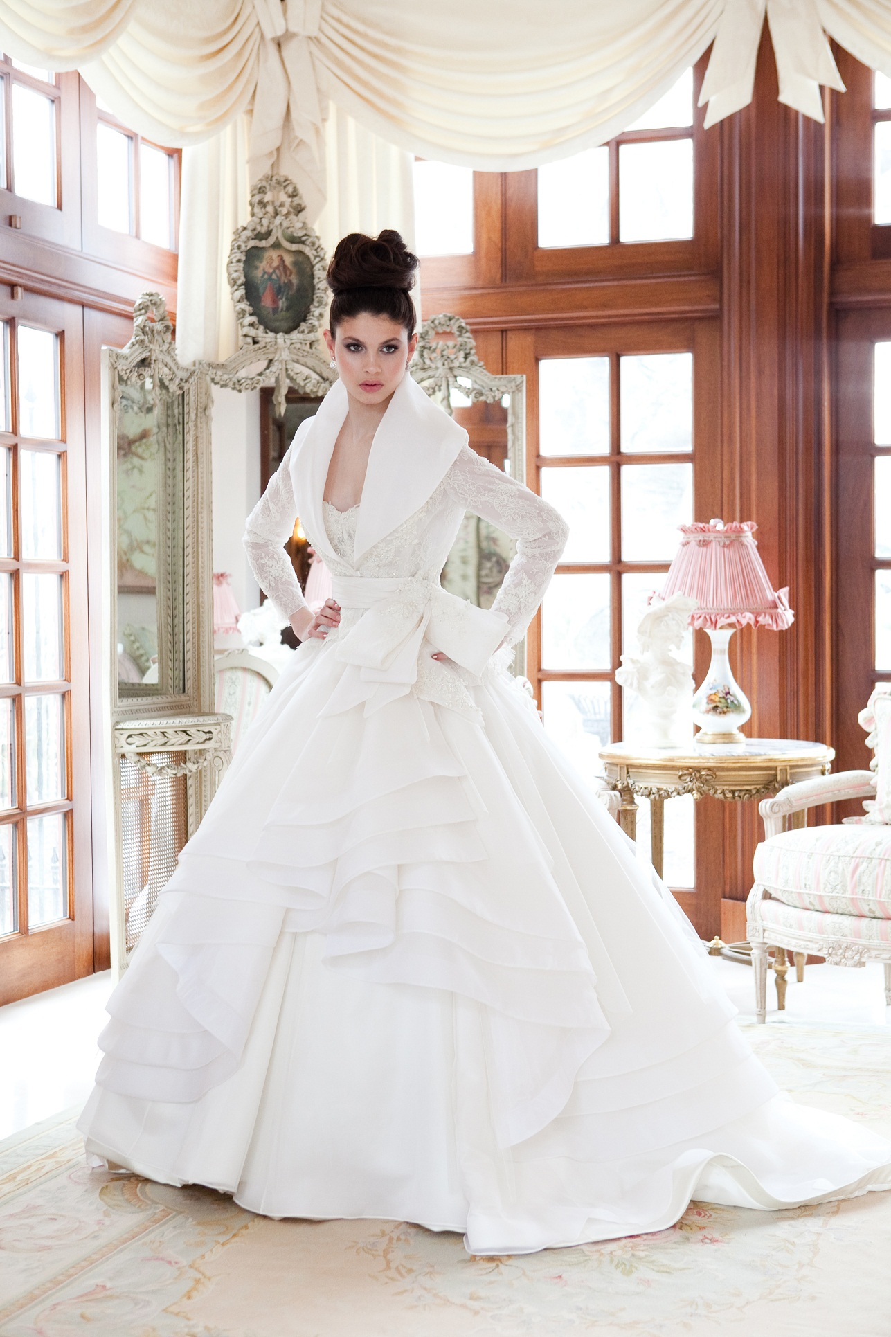 Our Kate Middleton inspired wedding gown | Valencienne Bridal