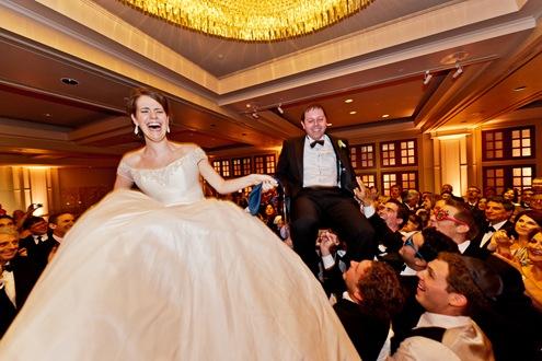 Valencienne ballroom skirt formal wedding gown
