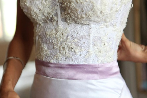Beaded bustier wedding gown ,valencienne ,toronto bridal store