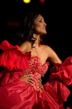 Toronto valencienne bridal,Red ballroom wedding gown