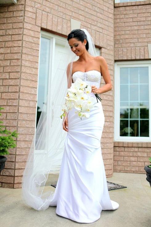 Valencienne,wedding gown ,toronto custom bridal gown.