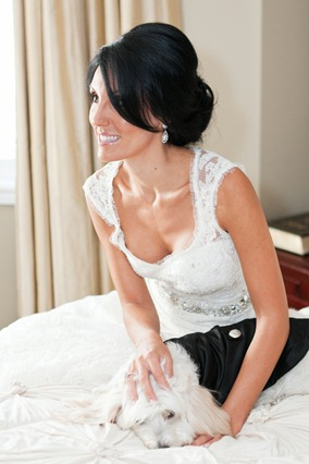 Valencienne Toronto French Lace Trumpet Gown, sweetheart necklace silk dupion