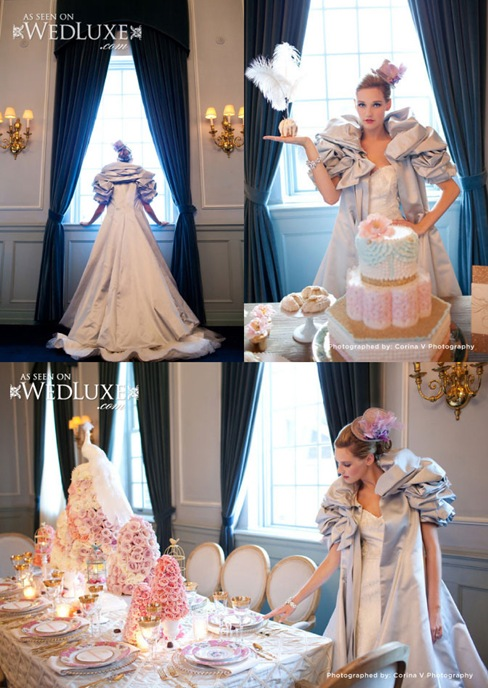 Valencienne bridal gown,Toronto,A-line with winter bridal coat,Cynthia Martin Events,Corina V Photography,valencienne designer wedding gowns