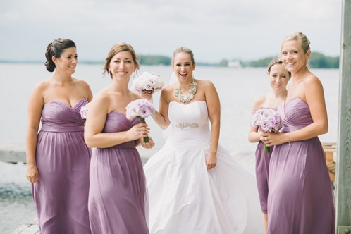 valencienne bridal,wedding day,bridesmaids,toronto,pink twig floral,ballroom gown,custom made,bespoke