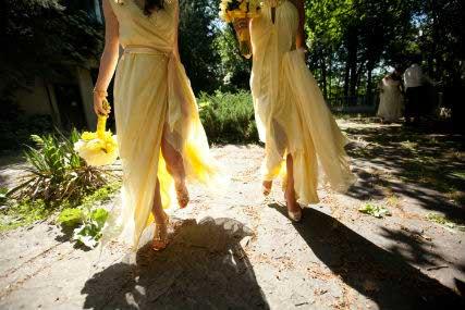 front-valencienne-custom-bridal-toronto-yellow-bridesmaids-destination