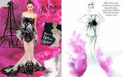 Valencienne is a wedding dress designer