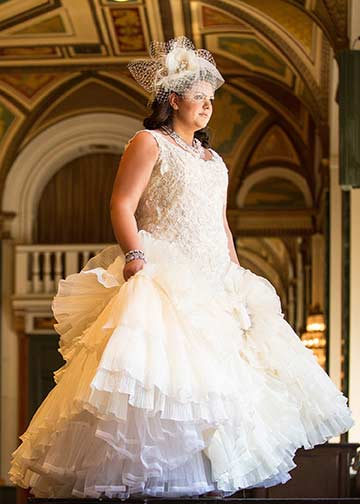 beautiful couture wedding dresses for plus size brides